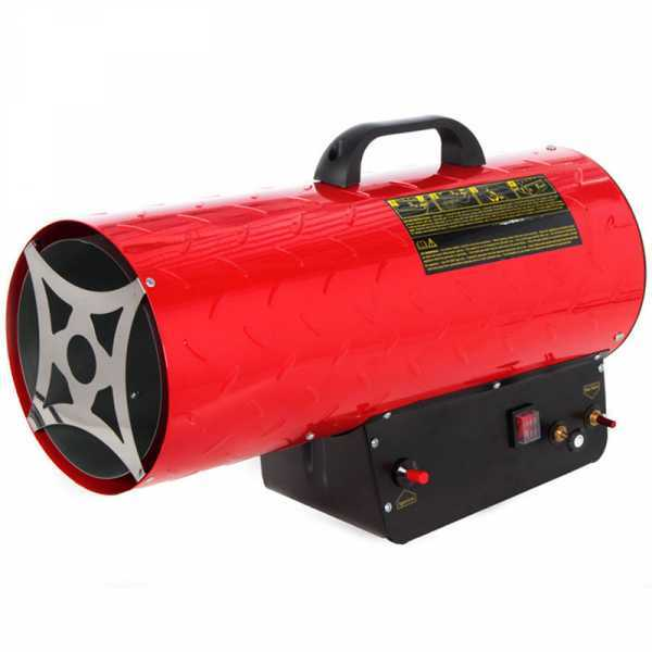 Generatore di aria calda a gas GeoTech GH 5300 I – avviamento piezoelettrico manuale