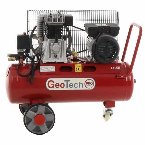 Compressore aria elettrico a cinghia Geotech-Pro BACP50-10-3 motore 3 HP – 50 litri – 10 bar