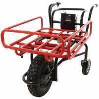 Carriola a batteria con ruote Geotech CAR 165E Estendibile – Batteria da 40V e 6Ah