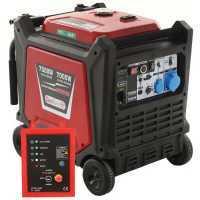 Generatore di corrente inverter 7,0 kW monofase Geotech-Pro PTGA 9000 – Quadro ATS incluso