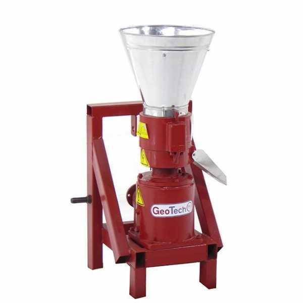 Pellettatrice a trattore GeoTech TWPM150 – produzione in casa del pellet da riscaldamento