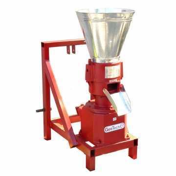 Pellettatrice a trattore GeoTech TWPM200 produzione del pellet da riscaldamento